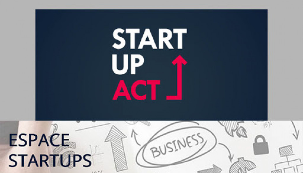 startup Act Label